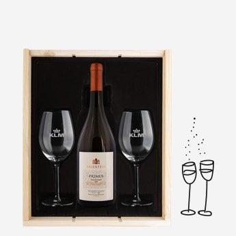 Zestaw z winem