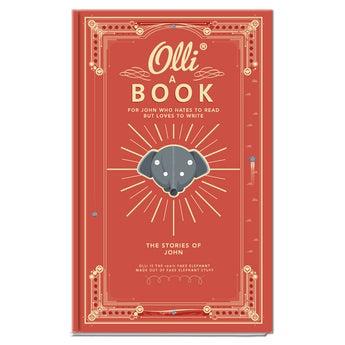 Caderno personalizado - Olli