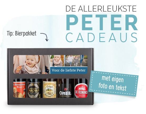 Cadeau voor Peter