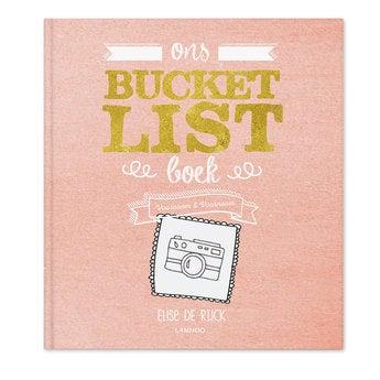 Bucketlist boek voor koppels