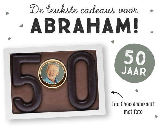 Cadeau voor Abraham