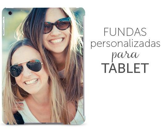 fundas para tablets con foto o nombre grabado