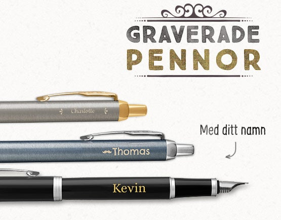 Personliga pennor