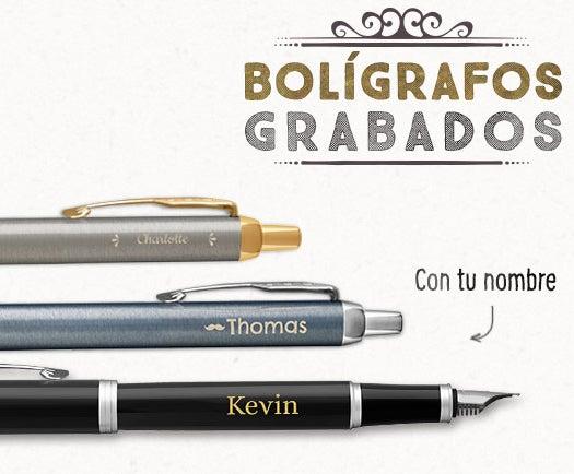 Bolígrafos y estilográficas personalizadas