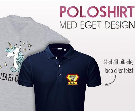 Brugerdefineret polo shirt