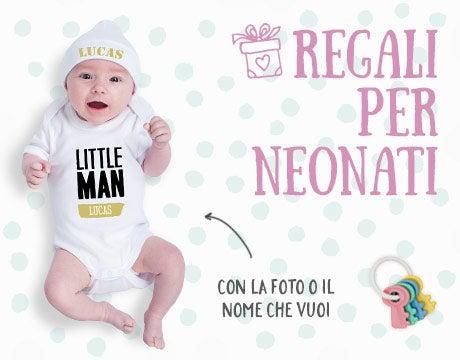 Regali per neonati con nome