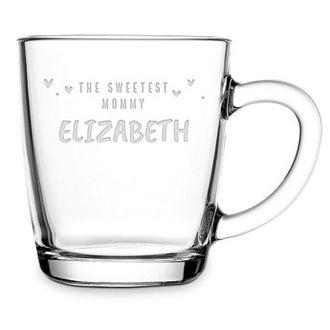 Deň matiek čaj sklo