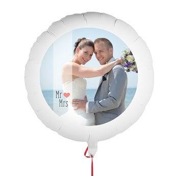 Bryllupsballong