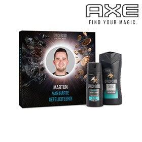 Axe-lahjapakkaukset