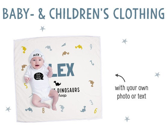Personalised baby & kids clothes