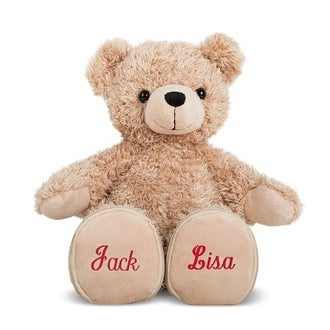Personalised Love bear - Embroidered names