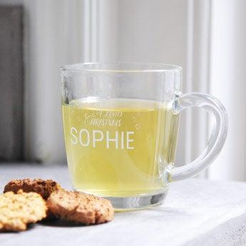 Sklenený čajový pohár
