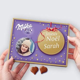 Milka personnalisé - Noël