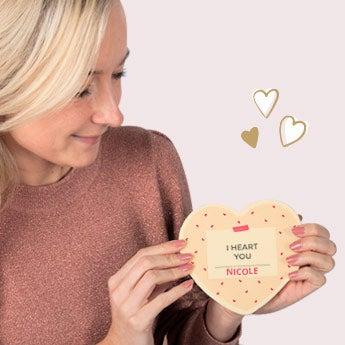 Valentijn voor haar