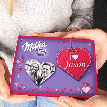 Vlastní dárková krabička Milka