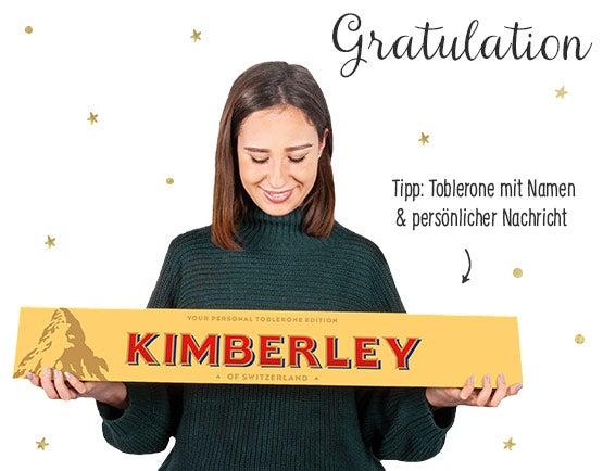 Toblerone personalisieren