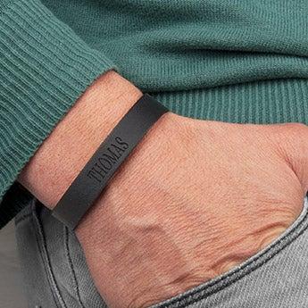 Fars dag læder armbånd