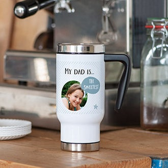 Father's Day Thermos mug