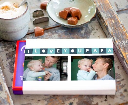 chocolates para el Día del Padre