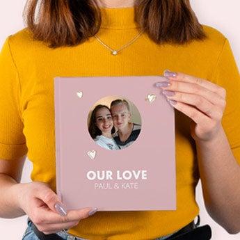 Our love photo album