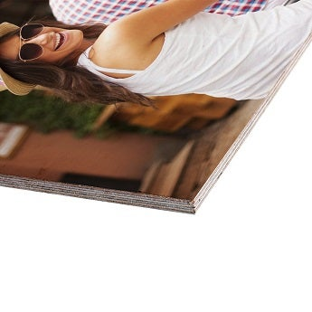 Foto em madeira