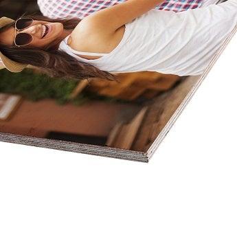 Foto på trä