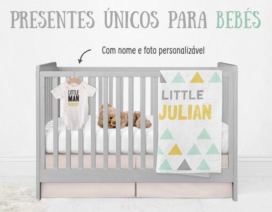 Presentes únicos para bebés