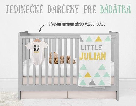 Jedinečné darčeky pre bábätká