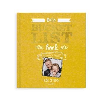 Bucketlist boek voor vaders