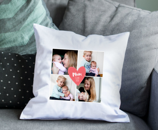 Pillowcase individually Printed with your desired Photo Personalised Cushion New