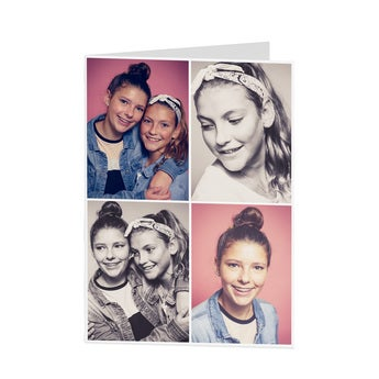 Personalised photo card