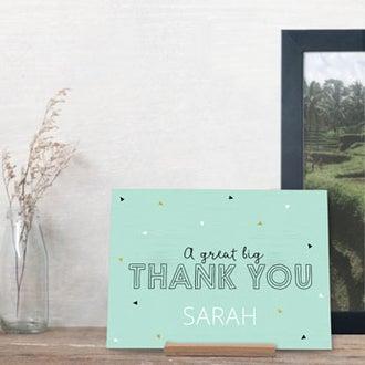 Bijzondere bedankjes