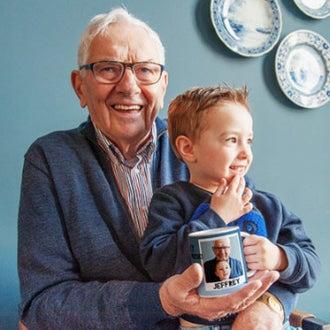 Presenter till farfar och morfar