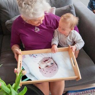 Lahja isoäidille
