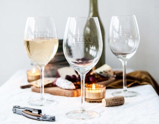 Bicchieri da Vino Personalizzati