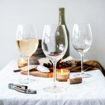 Indgraveret glas
