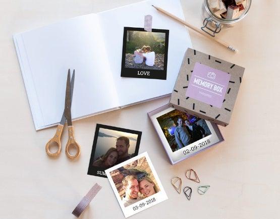 Box fotografie formato Polaroid