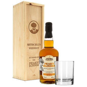 Peaky Blinders whiskey gift set