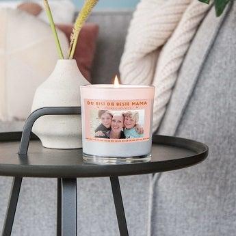 Kynttilä omalla kuvalla