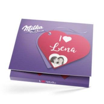 Chocolates personalizados Milka