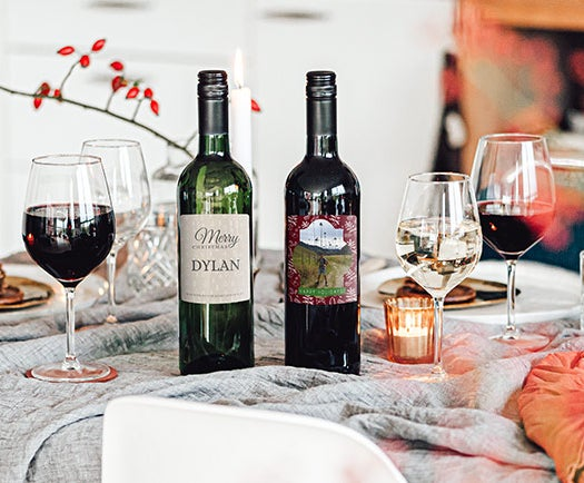 Personalized Wine Bottle Gifts for Wedding Engraved Wine Bottle