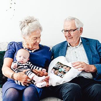 Gaver til bestemor og bestefar