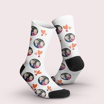 Calcetines de San Valentín