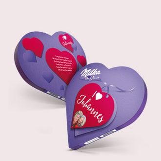 Milka szív