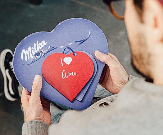 Milka Chokladhjärta