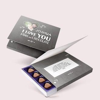 Milka praline chocolates