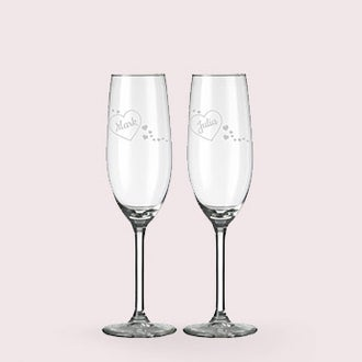 Poháre na šampanské