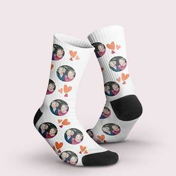 Socken mit Foto