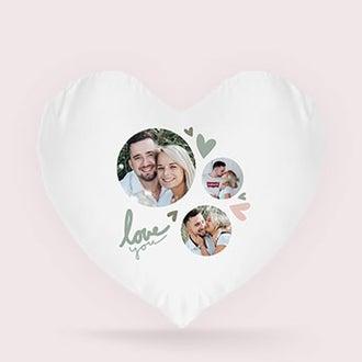 Heart-shaped pillow