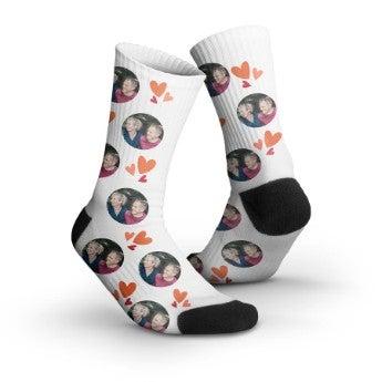 Ponožky s fotkami